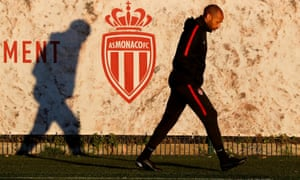 Thierry Henry has lost nine of his last 12 games in charge of Monaco.