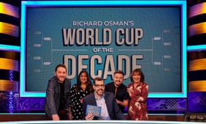 Richard Osman and his guests on World Cup Of The Decade