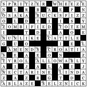 Times Crossword 26,698