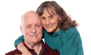 Reunited after four decades apart: Bob McLaren and DeeDee Zweibel.