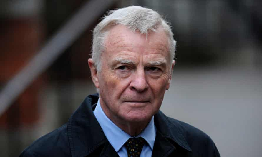 Max Mosley: his privacy action was a turning point.