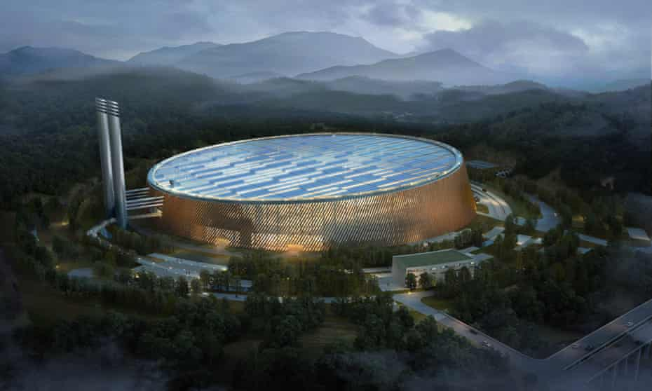 China's Shenzhen East Waste-to-Energy Power Plant