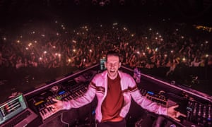 Determined to rave … Sigala at Barrowlands, Glasgow.
