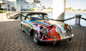 The 1965 Porsche 365C 1600 Cabriolet once owned by Janis Joplin