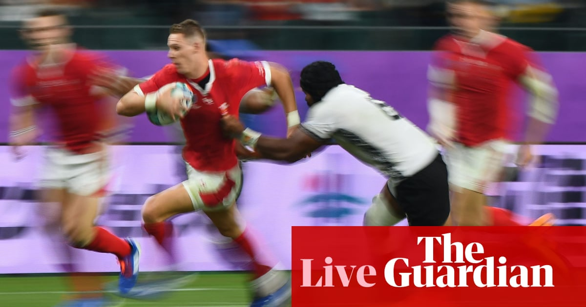 Wales v Fiji: Rugby World Cup 2019 – live!