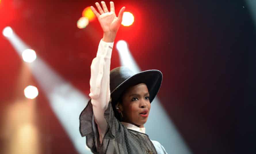 Pop singer Lauryn Hill.
