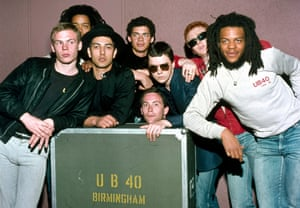The way they were … UB40 in 1983.