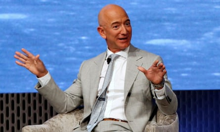 Jeff Bezos's $100m donation, for example, amounts to about 11 days of his income.
