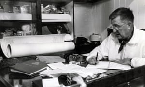 JRL Anderson, Guardian yachting editor and leader of the Vinland expedition, 2 May 1966.