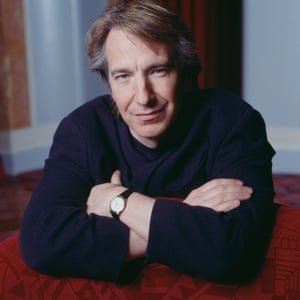 Alan Rickman in 1992, the year which saw him star in political satire Bob Roberts opposite Tim Robbins