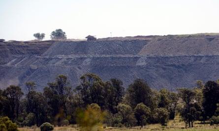 The New Acland coalmine, west of Brisbane