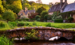 Upper Slaughter in Gloucestershire, England.