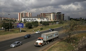 Mombasa Road in Nairobi.