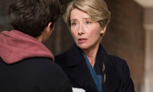 'An elegant and vulnerable performance'... Emma Thompson in The Children Act