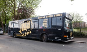 The youth bus in Waltham Forest, east London