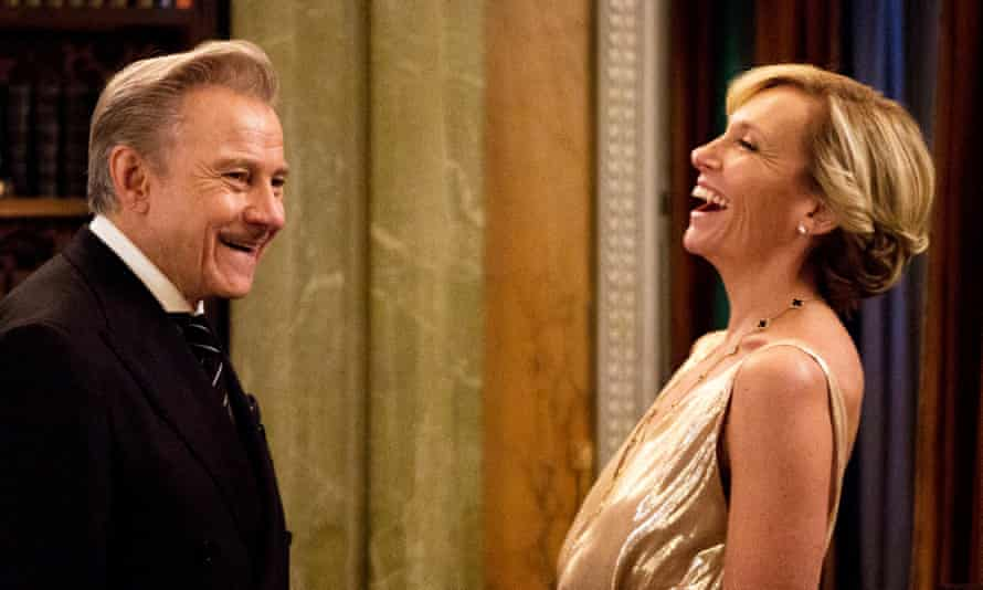 Weirdly dated … Harvey Keitel and Toni Collette in Madame.