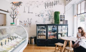 Il Locale, a cafe and gelateria run by Josie and Damien Jennings.