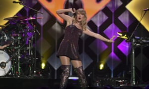 Taylor Swift, part of the Universal Music stable.