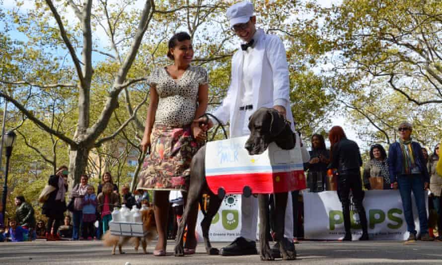 Brooklyn dog parade