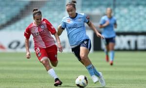 Sydney FC goalscorer Caitlin Foord