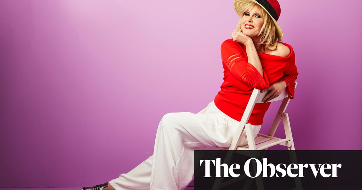 Joanna Lumley: 'I love Patsy because we're such polar opposites…'