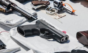 Police said the father, who killed three people before being shot himself, was a heavy drinker with a large gun collection.