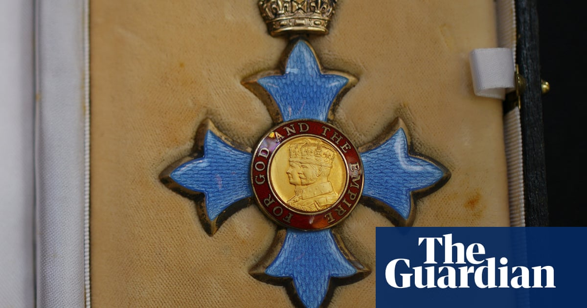 New calls to replace 'empire' with 'excellence' in UK honours system