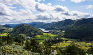 Thirlmere in the Lake District National Park, Cumbria.