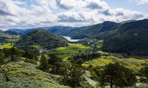 Thirlmere, Lake District national park, Cumbria, UK.