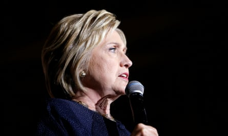 Hillary Clinton speaks in San Francisco, California, on Thursday. She has scheduled extra appearances in the state after polling showed the Democratic primary to be surprisingly close.