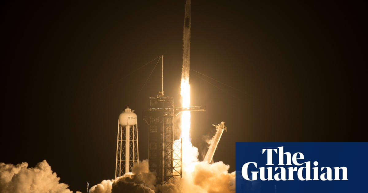 SpaceX launches third crew in less than a year with recycled rocket and capsule
