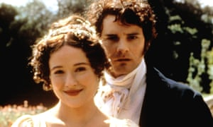 Jennifer Ehle and Colin Firth in Pride and Prejudice.
