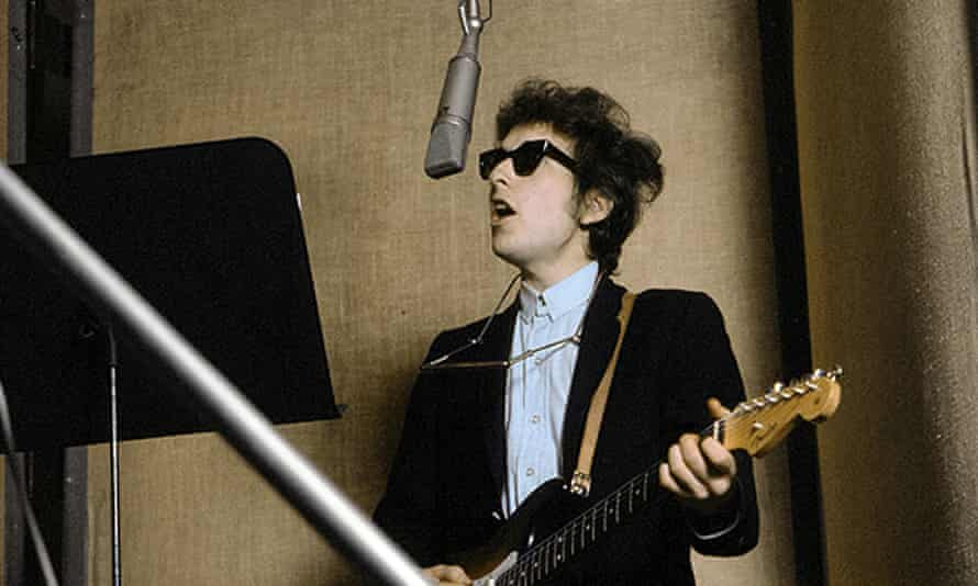 dylan with an electric guitar