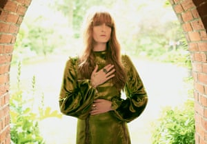 'I learned ways to manage my terror – drink, drugs, controlling food. It was like a renaissance of  childhood': Florence wears dress by Gucci and jewellery by Annina Vogel.