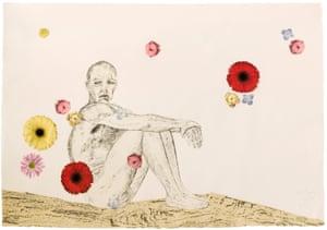Kiki Smith, Flowers in the Sky, 2019