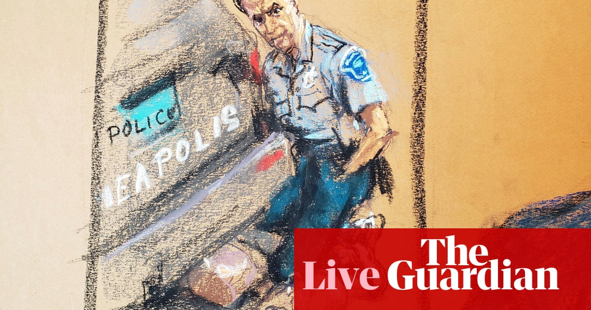 Derek Chauvin trial: expert witness expected to continue testimony – live