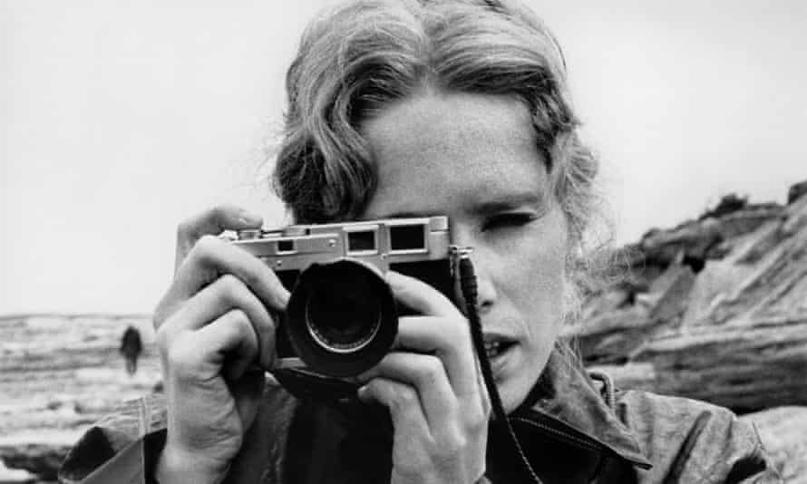 Liv Ullmann in Bergman's Persona (1966).