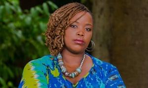 The writer Novuyo Rosa Tshuma