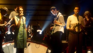 Stereolab on Later … With Jools Holland in 1996.