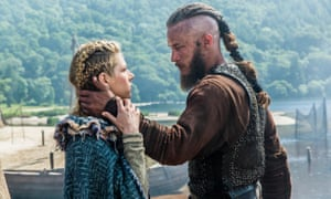 Lagertha and Ragnar in Vikings.