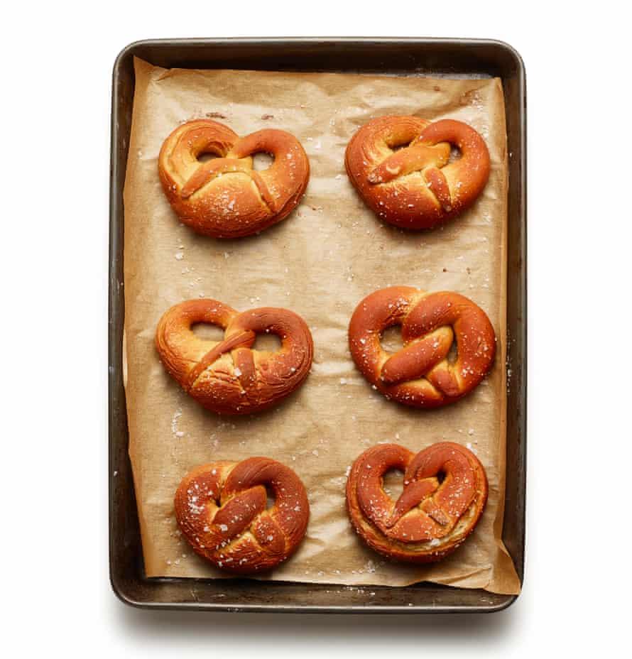 Felicity Cloake's pretzels.