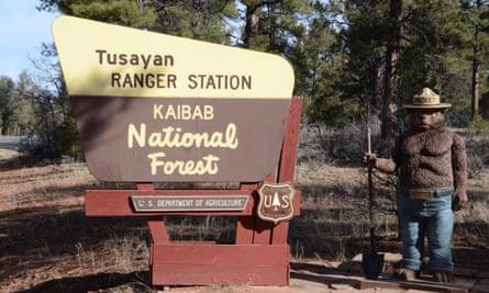 Tusayan, in Arizona, grand canyon