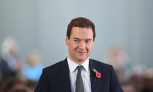 The chancellor, George Osborne, plans billions of pounds of cuts to tax credits.