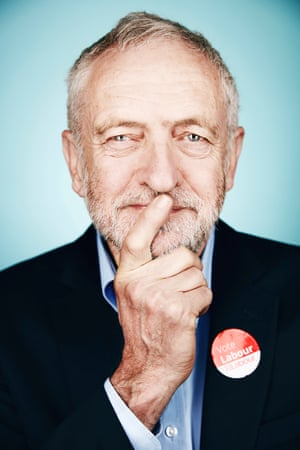 Jeremy Corbyn by Tom Barnes'Shot for Shortlist Magazine in a Leicester Rugby club ahead of a sold out speech on this year's general election campaign trail.'