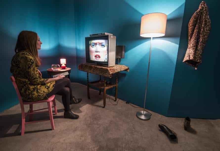 Lynn Hershman Leeson's Lorna 1979-1982 installation.