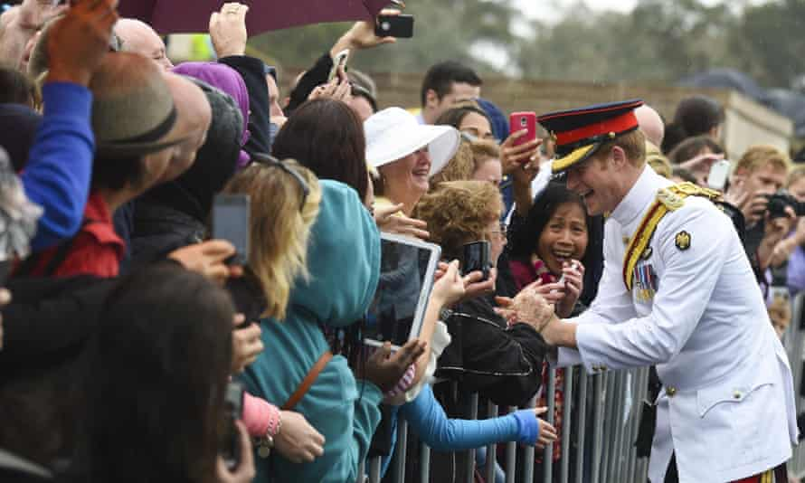 Prince Harry in Canberra