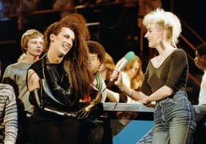 1984 'The Tube' - Pete Burns and Muriel Gray