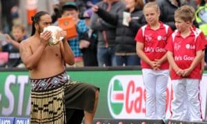 Maori culture at cricket