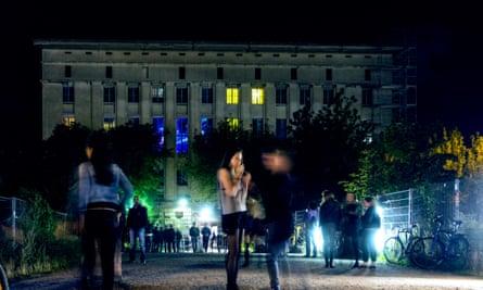 Berlin's famous Berghain nightclub
