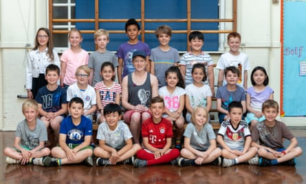 The year 3 class at Little Ealing primary school in 2018